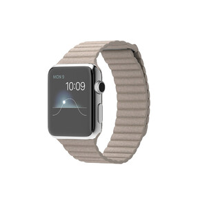 Купить Часы Apple Watch 42mm Stone Leather Loop