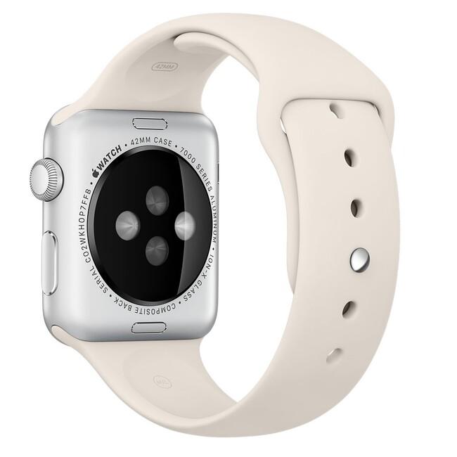 Ремешок Apple 42mm Antique White Sport Band (MLL12) для Apple Watch