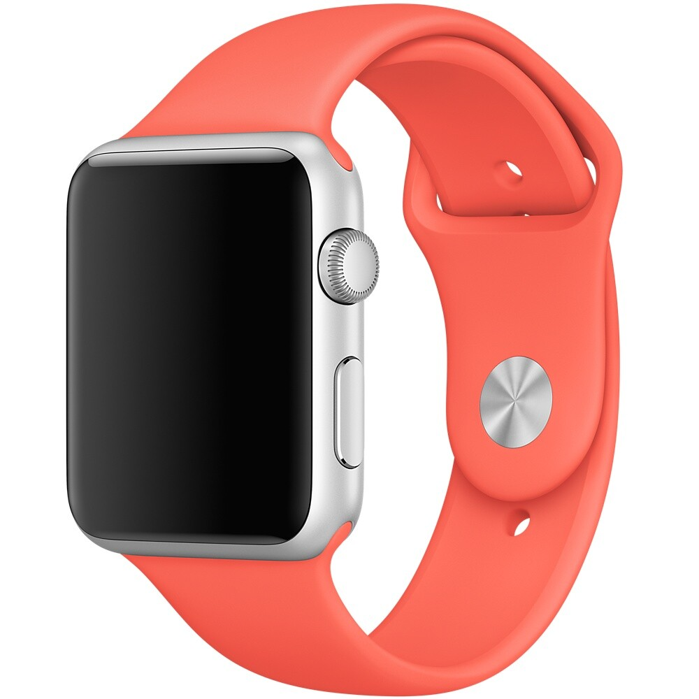 Ремешок Apple 42mm Apricot Sport Band (MM982) S/M&M/L для Apple Watch Series 1/2