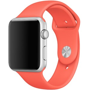 Купить Ремешок Apple 42mm Apricot Sport Band (MM982) S/M&M/L для Apple Watch Series 1/2/3