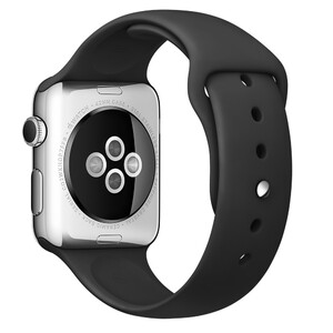Купить Ремешок Apple 42mm Black Sport Band (MJ4Q2) для Apple Watch