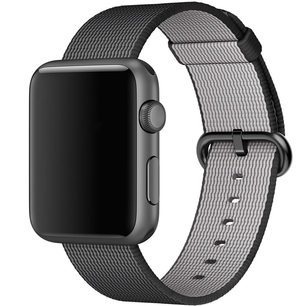 Ремешок Apple 42mm Black Woven Nylon (MM9Y2) для Apple Watch Series 1/2/3