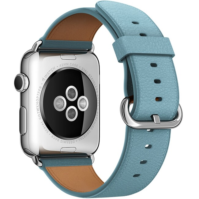 Ремешок Apple 42mm Blue Jay Classic Buckle (MMGR2) для Apple Watch