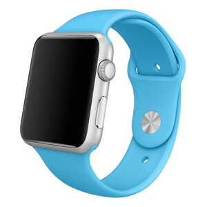 Купить Ремешок Apple 42mm Blue Sport Band (MLDL2) S/M&M/L для Apple Watch Series 1/2/3