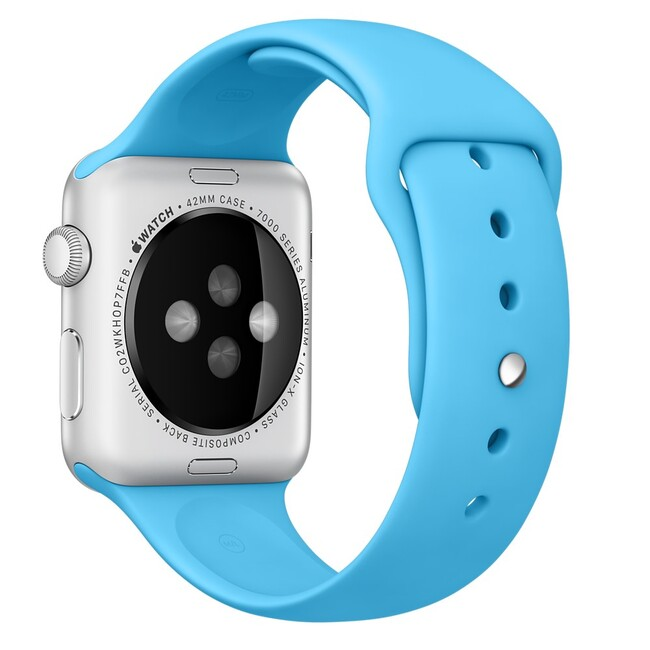 Ремешок Apple 42mm Blue Sport Band (MLDL2) для Apple Watch