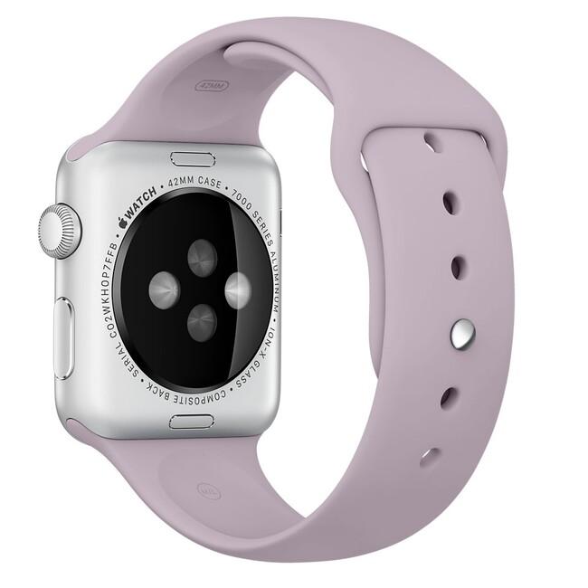 Ремешок Apple 42mm Lavender Sport Band (MLL22) для Apple Watch Series 1/2