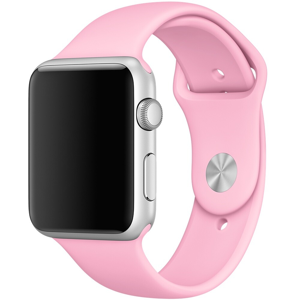 Ремешок Apple 42mm Light Pink Sport Band (MM9C2) S/M&M/L для Apple Watch Series 1/2