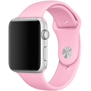 Купить Ремешок Apple 42mm Light Pink Sport Band (MM9C2) S/M&M/L для Apple Watch Series 1/2