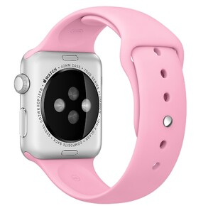 Купить Ремешок Apple 42mm Light Pink Sport Band (MM9C2) для Apple Watch