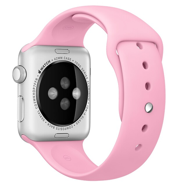 Ремешок Apple 42mm Light Pink Sport Band (MM9C2) для Apple Watch Series 1/2