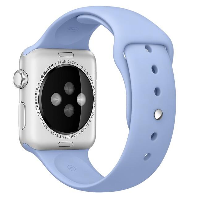 Ремешок Apple 42mm Lilac Sport Band (MM9D2) для Apple Watch