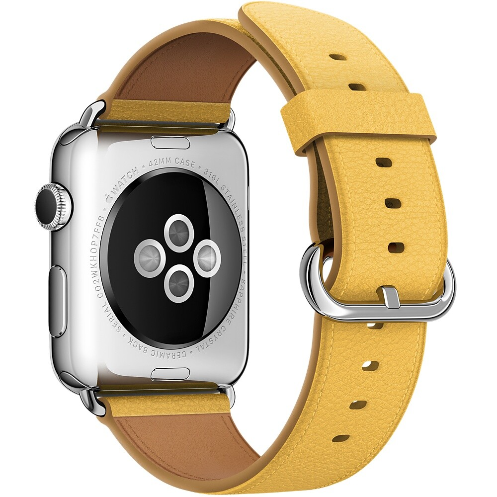 Ремешок Apple 42mm Marigold Classic Buckle (MMHC2) для Apple Watch Series 1/2