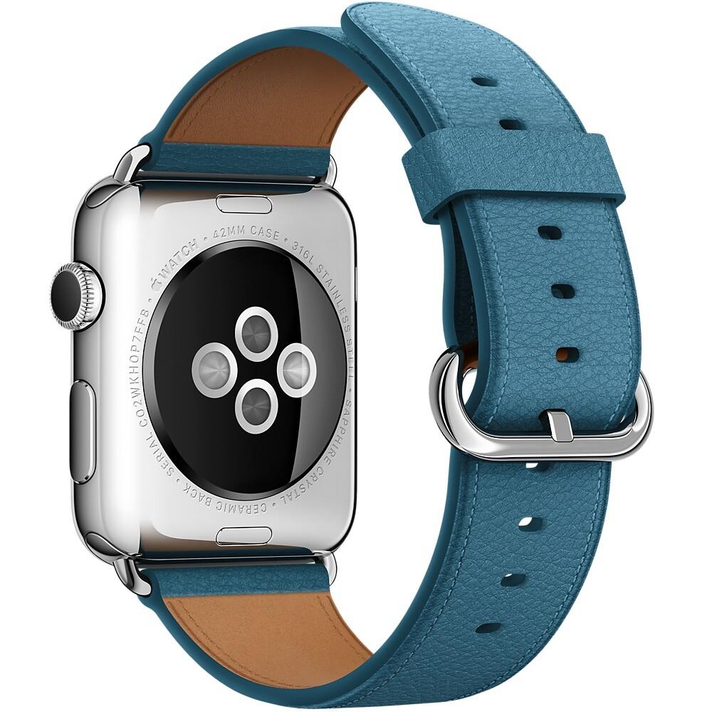 Ремешок Apple 42mm Marine Blue Classic Buckle (MMHA2) для Apple Watch Series 1/2/3