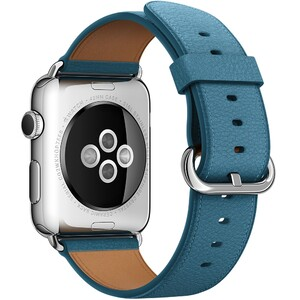 Купить Ремешок Apple 42mm Marine Blue Classic Buckle (MMHA2) для Apple Watch Series 1/2/3