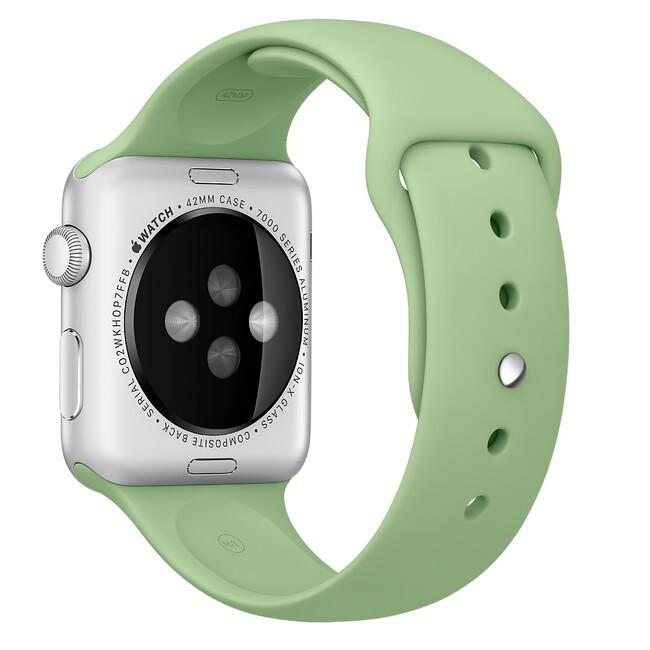 Ремешок Apple 42mm Mint Sport Band (MM9A2) для Apple Watch