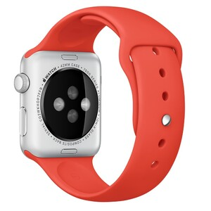 Купить Ремешок Apple 42mm Orange Sport Band (MLDK2) для Apple Watch