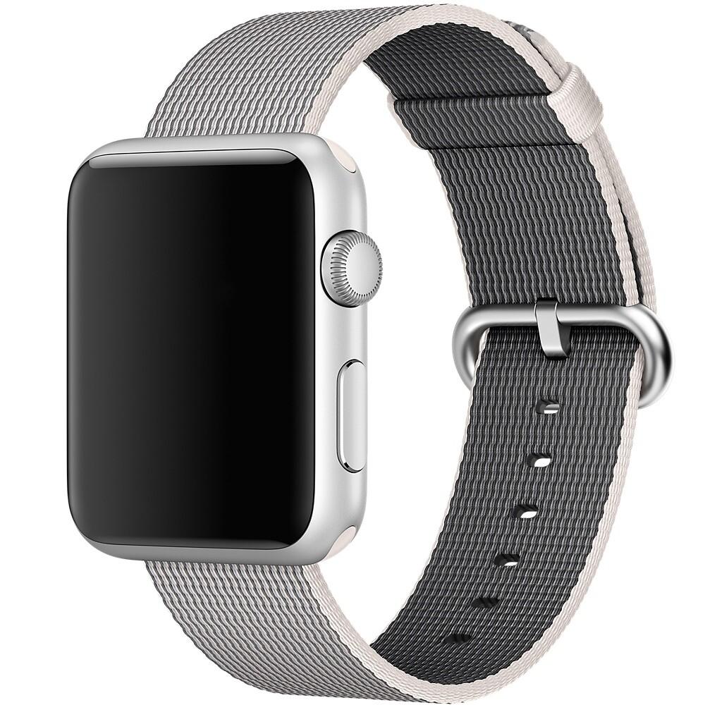 Ремешок Apple 42mm Pearl Woven Nylon (MMA72) для Apple Watch Series 1/2/3