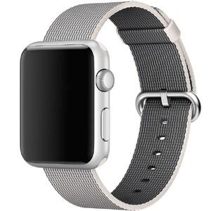 Купить Ремешок Apple 42mm Pearl Woven Nylon (MMA72) для Apple Watch Series 1/2/3