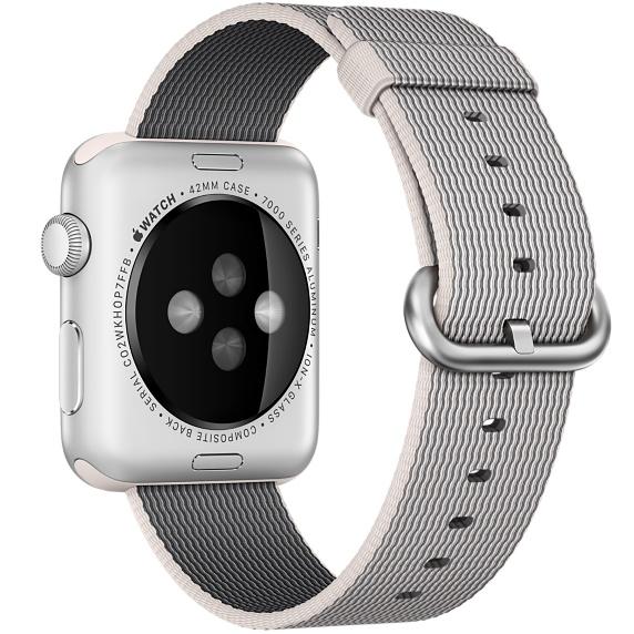 Ремешок Apple 42mm Pearl Woven Nylon (MMA72) для Apple Watch