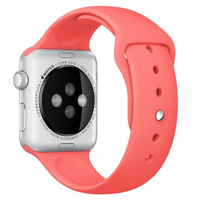 Ремешок Apple 42mm Pink Sport Band (MJ4T2) для Apple Watch Series 1/2
