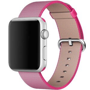 Купить Ремешок Apple 42mm Pink Woven Nylon (MMA22) для Apple Watch Series 1/2/3