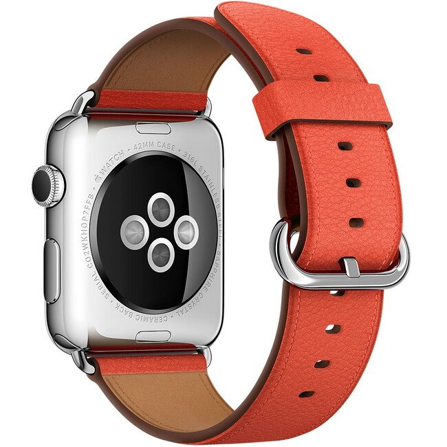 Ремешок Apple 42mm Red Classic Buckle (MMAN2) для Apple Watch