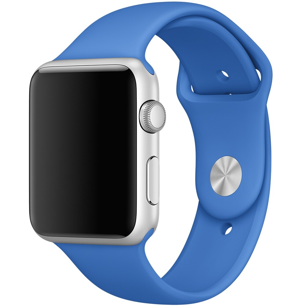 Ремешок Apple 42mm Royal Blue Sport Band (MM972) S/M&M/L для Apple Watch Series 1/2/3