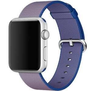 Купить Ремешок Apple 42mm Royal Blue Woven Nylon (MMA12) для Apple Watch Series 1/2