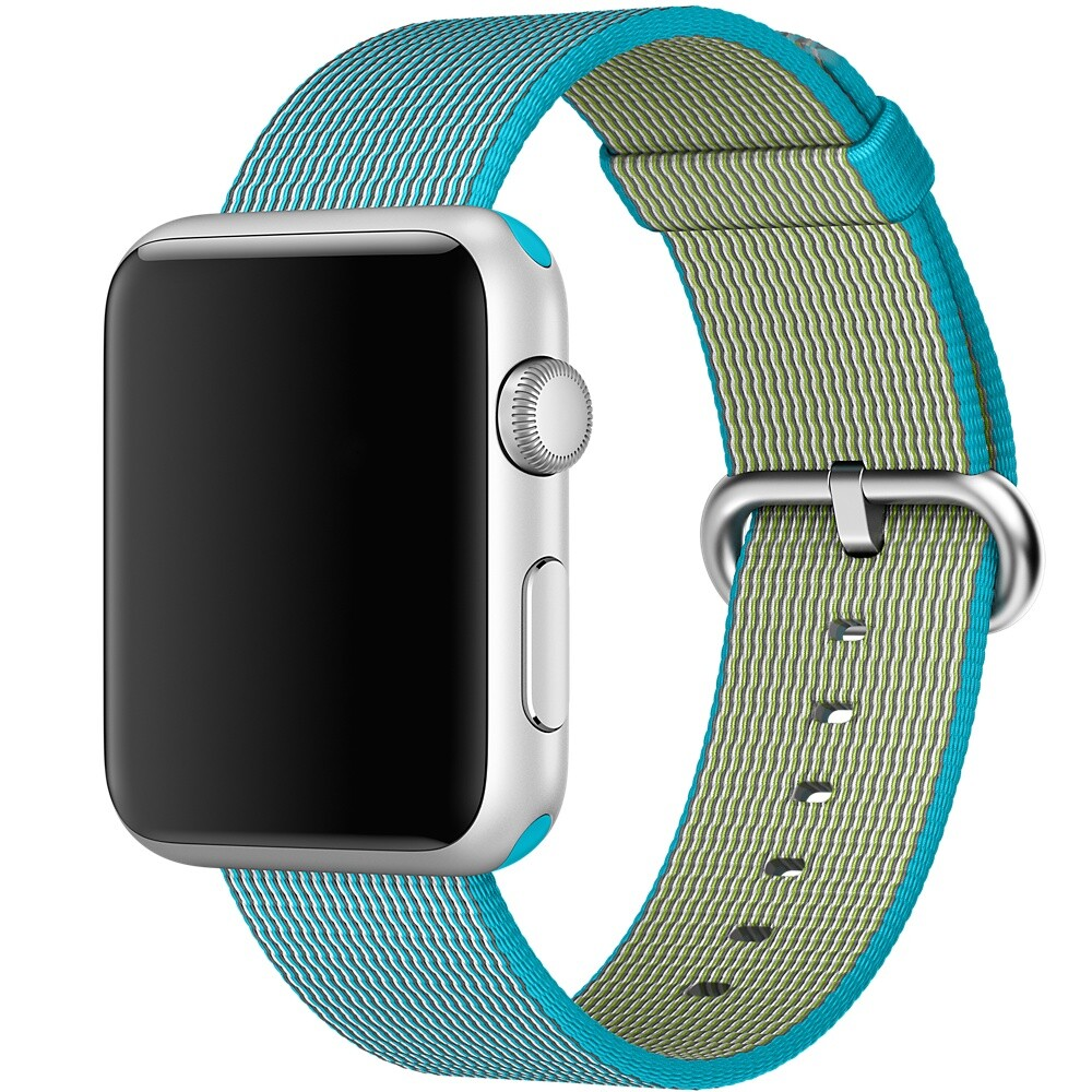 Ремешок Apple 42mm Scuba Blue Woven Nylon (MM9X2) для Apple Watch Series 1/2/3