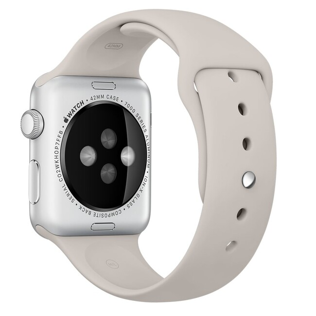 Ремешок Apple 42mm Stone Sport Band (MLKY2) для Apple Watch