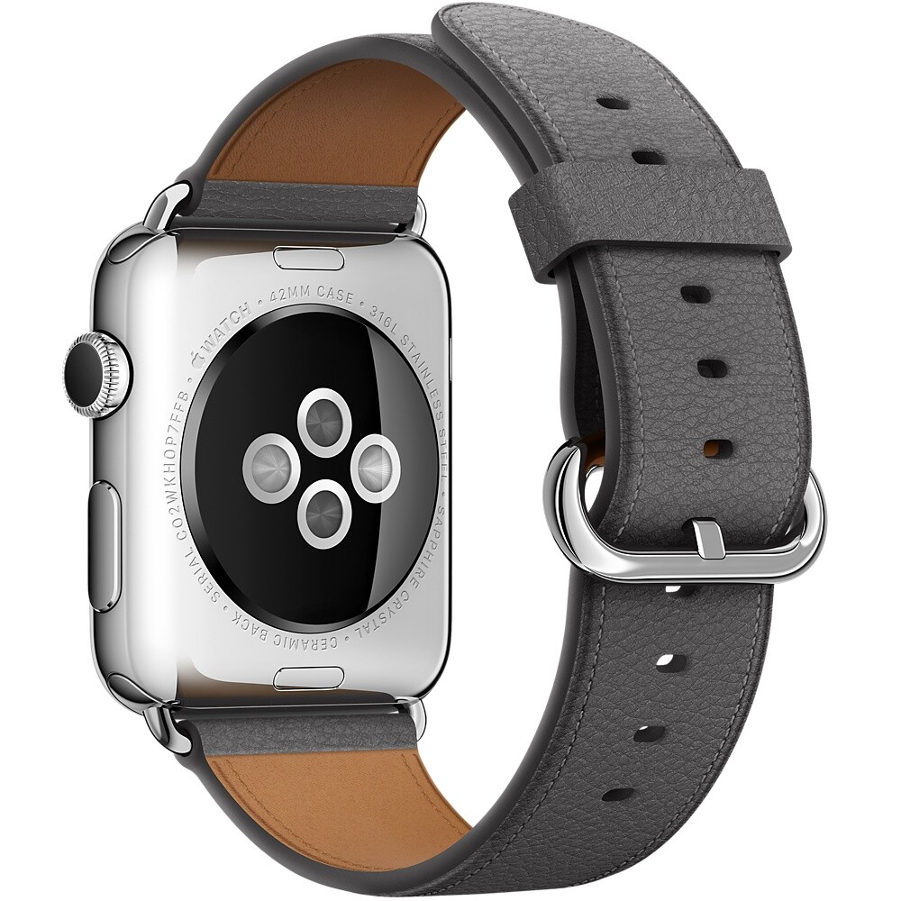 Ремешок Apple 42mm Storm Gray Classic Buckle (MMGW2) для Apple Watch Series 1/2