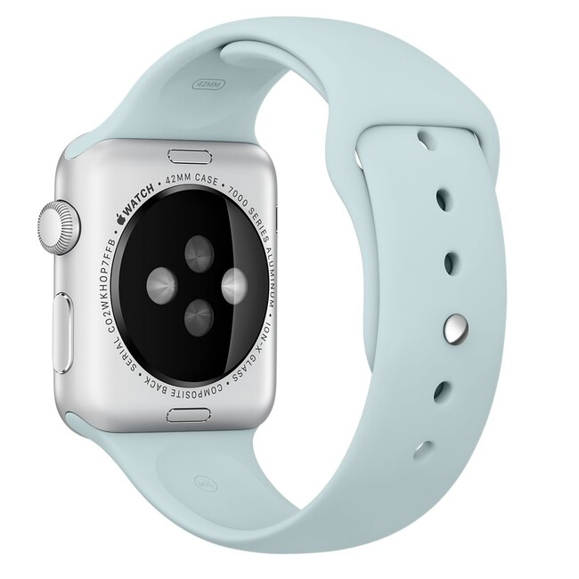 Ремешок Apple 42mm Turquoise Sport Band (MLDT2) для Apple Watch Series 1/2
