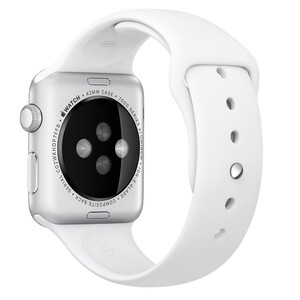 Купить Ремешок Apple 42mm White Sport Band (MJ4M2) для Apple Watch