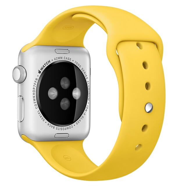 Ремешок Apple 42mm Yellow Sport Band (MM992) для Apple Watch