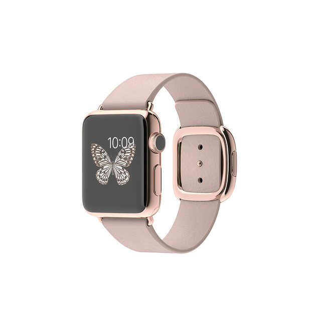 Часы Apple Watch Edition 38mm 18-Karat Rose Gold Modern Buckle Rose Gray
