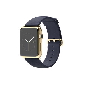 Купить Часы Apple Watch Edition 42mm 18-Karat Yellow Gold Midnight Blue Classic Buckle