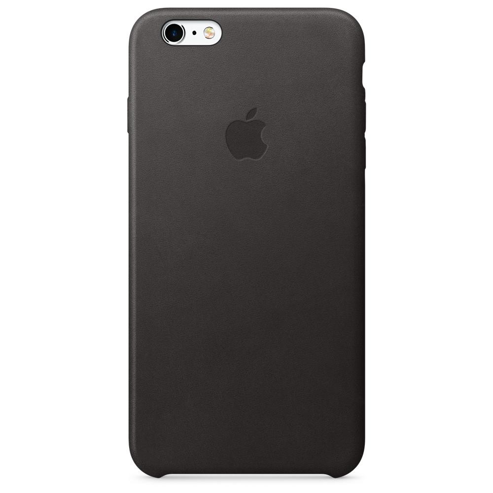 Купить Кожаный чехол Apple Leather Case Black (MKXF2) для iPhone 6s Plus