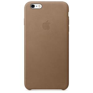 Купить Кожаный чехол Apple Leather Case Brown (MKX92) для iPhone 6s Plus