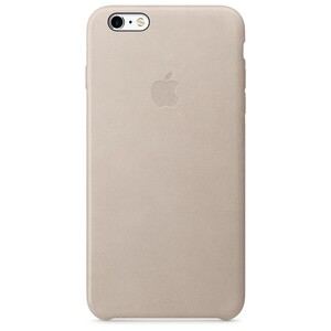 Купить Кожаный чехол Apple Leather Case Rose Gray (MKXE2) для iPhone 6s Plus