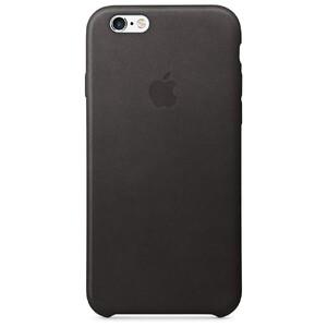 Купить Кожаный чехол Apple Leather Case Black (MKXW2) для iPhone 6s/6