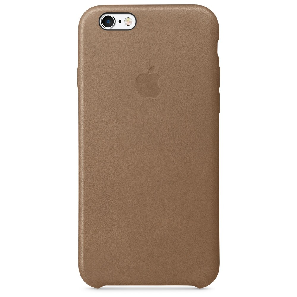 Кожаный чехол Apple Leather Case Brown OEM для iPhone 6s/6