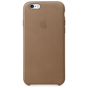 Купить Кожаный чехол Apple Leather Case Brown (MKXR2) для iPhone 6s