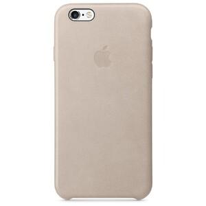 Купить Кожаный чехол Apple Leather Case Rose Gray (MKXV2) для iPhone 6s