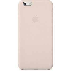 Купить Кожаный чехол Apple Leather Case Soft Pink (MGQW2) для iPhone 6 Plus
