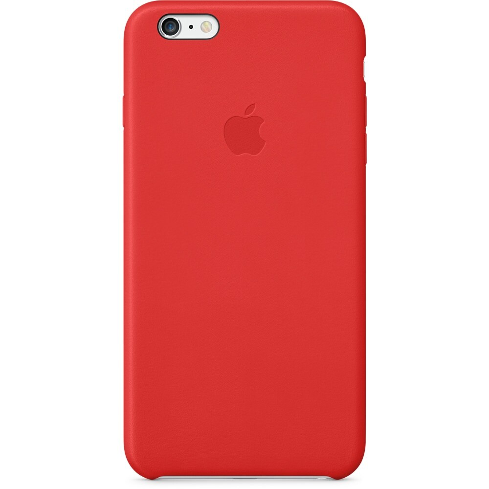 Кожаный чехол Apple Leather Case (PRODUCT) Red (MGQY2) для iPhone 6 Plus/6s Plus