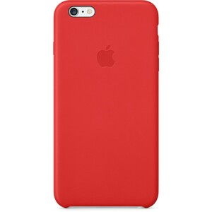 Купить Кожаный чехол Apple Leather Case (PRODUCT) Red (MGQY2) для iPhone 6 Plus