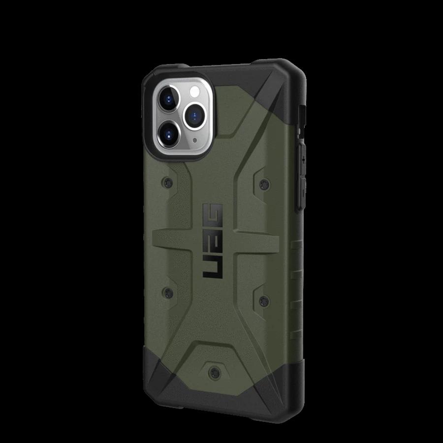 Противоударный чехол UAG Pathfinder Olive Drop для iPhone 11 Pro Max