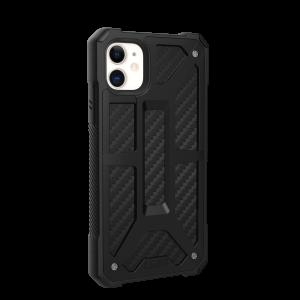 Купить Противоударный чехол UAG Monarch Carbon Fiber для iPhone 11