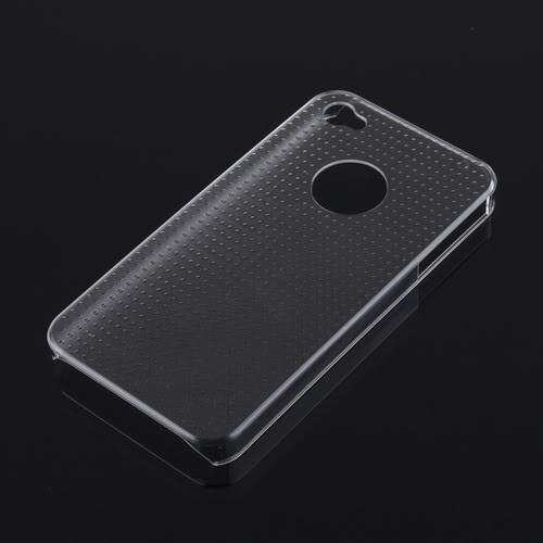 Прозрачный пластиковый чехол Dotted для iPhone 4/4S
