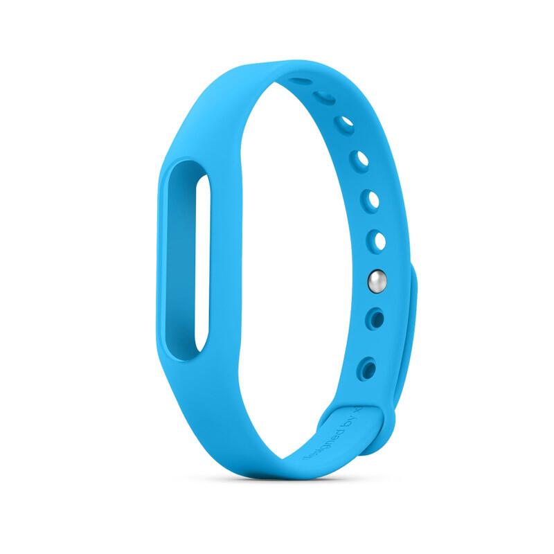 Голубой ремешок для фитнес-браслета Xiaomi Mi Band Pulse 1S